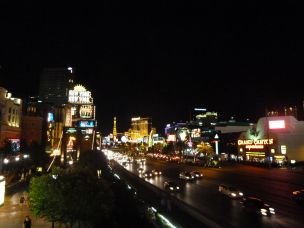 The Strip at night!