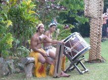 Trommeslagere på Highland Paradise