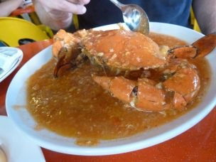 Chilli krabbe