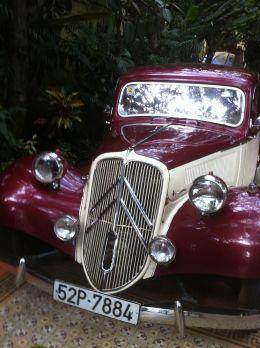 Veldig mange gamle franske biler som er i forbausende god stand.