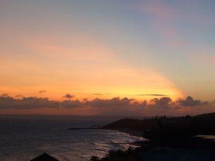 Solnedgang over Mui Ne